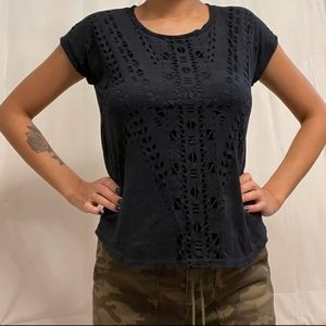Chico's Women's Size 0P (Petite Small) SS Tee